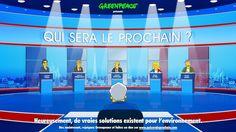 """""""Qui sera le prochain ?"""" – La Présidentielle vue par Greenpeace"""