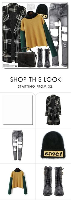 """""""Christmas Day - Yoins"""" by itshandra ❤ liked on Polyvore featuring Alexander Wang and Anja"""