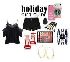"""""""Happy Holidays"""" by lola-guadalupe-delgado on Polyvore featuring Hollister Co., Barneys New York, Morphe and Lana"""