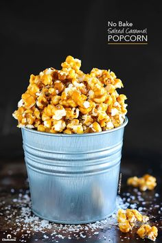 This Salted Caramel Popcorn is sweet and salty, and best of all…NO BAKE! All of the crunch, non of the long baking and continuous stirring in the oven. Step-by-step phototutorial on how to make this addictive snack! BONUS: How to make perfect plain stove-top popcorn! Have you ever been in the movie theatre dilemma of...Read More »