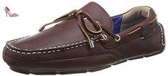 Sebago Kedge Tie, Mocassins homme, Marron (Dark Brown), 41 EU (10.5 UK) - Chaussures sebago (*Partner-Link)