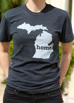 Home. Michigan. The top of the second hump in M is right where I'm from.