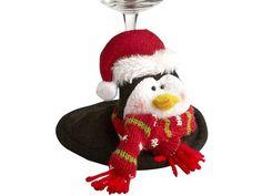 Penguin Wine Glass Coaster