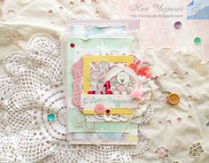 """My scrap: Детская открытка из коллекции """"Baby shower"""""""