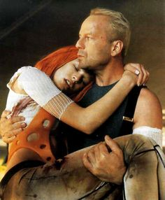 "The 5th Element, 1997, Bruce Willis, Milla Jovovich, Gary Oldman.  ""Everything you create, you use to destroy. Yeah, we call it human nature."""