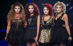 little mix x factor performance ET | Little Mix during E.T.