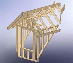 Image result for Shed Dormer Framing Plans
