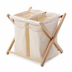 Wäschebehälter zweifach | Wäsche Sortieren und Trocknen