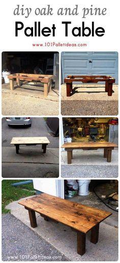 DIY-Oak-and-Pine-Pallet-Table.jpg 720×1,580 pixels