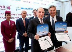 Qatar Airways Orders 40 Planes from Boeing.