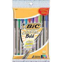 Bic Cristal Pens Multi Colors 10 pack BIC http://www.amazon.com/dp/B008KQO0OI/ref=cm_sw_r_pi_dp_8K8bub0ZEQ95A
