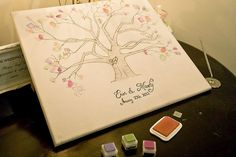Scenes from the wedding of Erin and Marty Lynch. #wedding #weddingtree #guestbook #smh #lifeandstyle