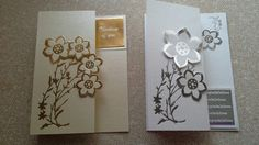 Floral cards mixed greeting