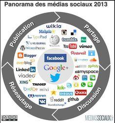 Panorama dei Social Media 2013 (di Fred Cavazza)