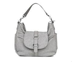 Kelly Moore B-Hobo Grey | Schöne Kameratasche für Frauen, Spiegelreflex Fototasche | bei PhotoQueen