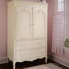 Gorgeous armoire to hold baby girls secrets - Ma Marie Door Chest