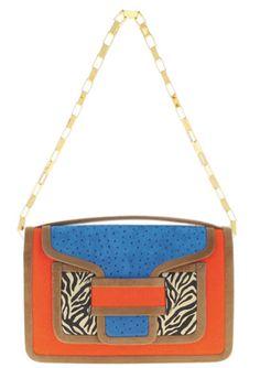 Pierre Hardy Color-Block Shoulder Bag