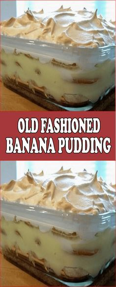 You will need: 1 box nilla wafers oz box) 2 ½ cups sugar 6 cups whole milk 6 sliced bananas This is the BEST Banana Pudding recipe you will ever taste! Banana pudding is so creamy and rich. Enjoy this classic recipe that my Grandma used to make! Homemade Banana Pudding, Best Banana Pudding, Banana Pudding Recipes, Pudding Desserts, Köstliche Desserts, Delicious Desserts, Dessert Recipes, Yummy Food, Layered Desserts
