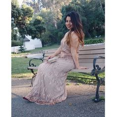 ADRIANNA PAPELL gold beaded dress Used only once for prom | beaded | perfect condition | Adrianna Papell Dresses Prom
