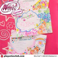 Activity 2 - Magic Friendship cards www.playwinxclub.com