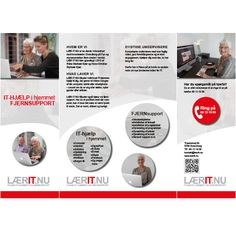 Lær It Nu profil brochure