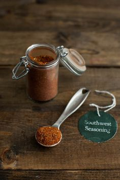 DIY Gift: Homemade Southwest Seasoning from Naturally Ella