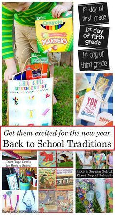 Get the kids excited for the new year with these 15 fun Back to School Traditions Back To School Hacks, Back To School Supplies, 100 Days Of School, New School Year, First Day Of School, Starting School, School School, School Stuff, Back To School Breakfast