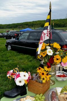 Tailgate at the Hunt Cup in Hunt Valley Maryland.
