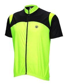 Canari Blade Mens Cycling Jersey Neon Yellow bike bicycle by Canari, http://www.amazon.com/dp/B007V6AIFS/ref=cm_sw_r_pi_dp_C6HJpb0D3FV3S
