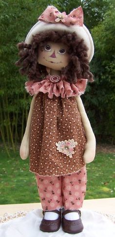 Annie Samantha Bea Doll Pattern #231PM Jackie Kay, Whimsy Doodles