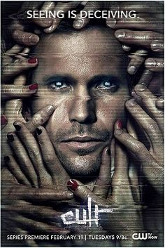 Extra Large Movie Poster Image for Cult Cult Movies, Hd Movies, Movie Tv, Fantasy Shows, Sci Fi Fantasy, Damon Salvatore, Greek Tv Show, Matthew Davis, Series Premiere