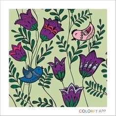 Flores e pássaros para Thaizza