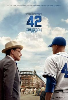 "Jackie Robinson movie ""42"" final ""moments"" banner Can't Wait To See This."