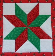 Mix and match stars PDF quilt block pattern Quilt Square Patterns, Barn Quilt Patterns, Pattern Blocks, Square Quilt, Christmas Quilt Patterns, Christmas Tree Quilt Block, Quilt Blocks Easy, Snowflake Quilt, Traditional Quilt Patterns