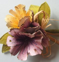 Hand Painted Silk Fl