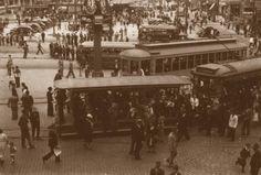Praça da Sé, 1939. São Paulo do Passado
