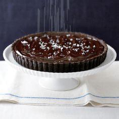 Black Swan: Salted Chocolate Tart