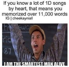 I am the smartest person alive then!!