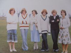 Probably 1977 or 1978. At this stage many of Dianas style cues came from copying her elder sister Sarah whom she idolised