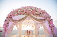 Domemandap#pattelmandap#pastelflowermandap#indianweddingmandap#destiantionwedding#wizkim