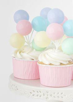 Cupcakes de claras y vainilla