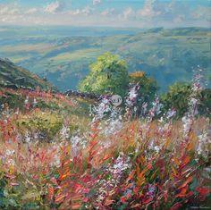Mark PRESTON - Rosebay Willowherb, Curbar Gap