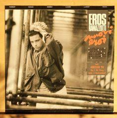 EROS RAMAZOTTI - Nuovi eroi - mint- - - Italo Disco Pop Vinyl LP Rare