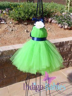 Tutu Dresses Flower Girl Dress Tutu Dress Lime by indigobabies, super cute for jessica and do a bright colored shirt :)