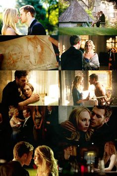 Klaus & Caroline  - the-vampire-diaries-tv-show Fan Art
