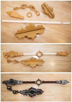 Diablo 3 Female Barbarian Cosplay Kamui Cosplay Costume Tutorial Props Weapon Flail