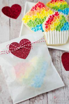 Sweet Rainbow Flower Cookies by ©Bakingdom