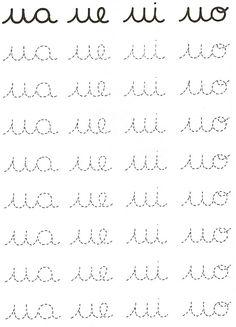Alphabet Activities Kindergarten, Preschool Number Worksheets, Letter Tracing Worksheets, Cursive Writing Worksheets, Alphabet Writing, Preschool Writing, Worksheets For Kids, Learn Handwriting, Improve Your Handwriting