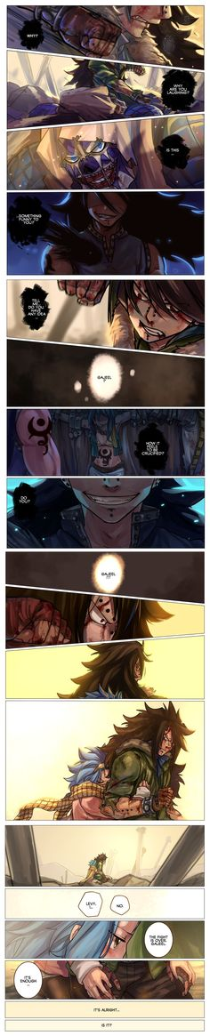 Levy and Gajeel. *sobs heavily in corner* Why do I torture myself like this!
