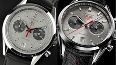 "TAG Heuer ""Jack Heuer"" Carreras -- 40th Anniversary Carrera (from 2004) and 80th Birthday Carrera (from 2102)"